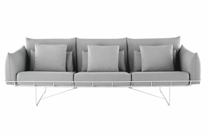 "**Three seater** Herman Miller 'Wireframe' sofa, $16,425, [Living Edge](https://livingedge.com.au/|target=""_blank""