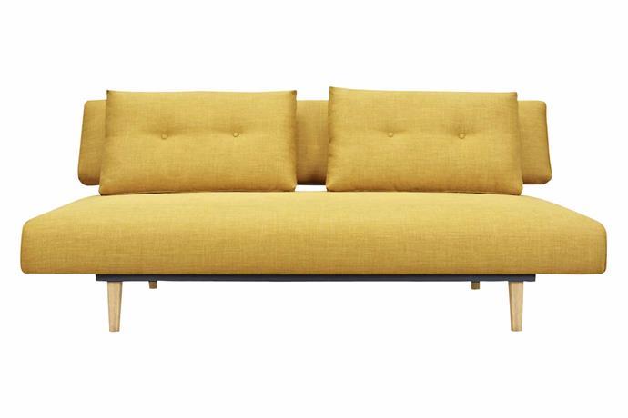 "**Sofa bed** 6ixty 'Rio' sofa bed, $1199, [Zanui](https://www.zanui.com.au/|target=""_blank""|rel=""nofollow"")."