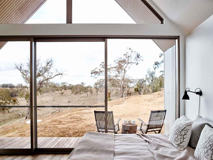 """The master bedroom opens onto a private deck which overlooks [Turon Gates](https://www.turongates.com/