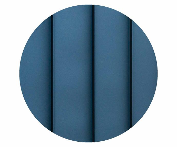 "Colorbond steel panel in Monument, [Colorbond](https://colorbond.com/|target=""_blank""