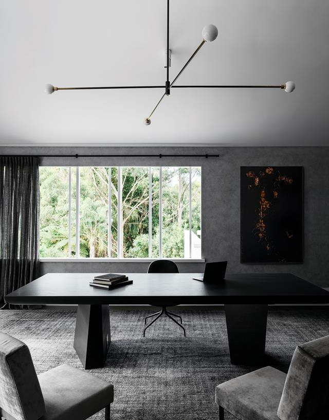 """The materials within this [waterfront home](https://www.homestolove.com.au/waterfront-house-nature-inspired-interiors-20420