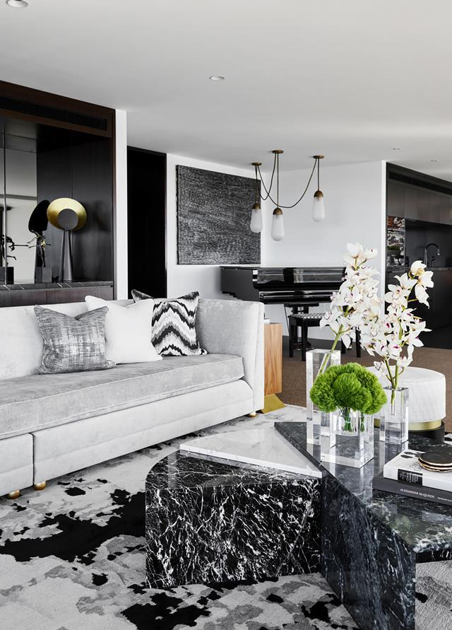 """Conceived by Poco Designs, this [chic apartment](https://www.homestolove.com.au/a-luxe-sydney-apartment-with-bespoke-interiors-19676 