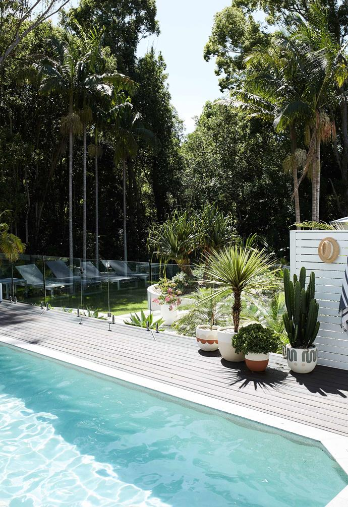 """**Garden** The pool and deck by [Dynamic Pool Designs](https://www.dynamicpooldesigns.com.au/