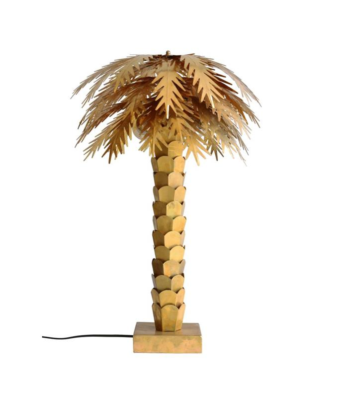 "This striking lamp will add a luxe tropical touch to any interior. Brass HK Living Palm **table lamp**, $999, from [House Of Orange](https://www.houseoforange.com.au/products/brass-palm-lamp|target=""_blank""