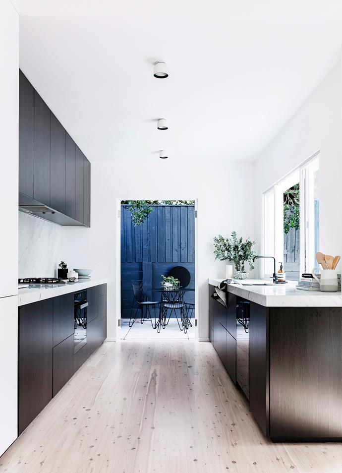 "**Planning:** Be absolutely sure of your [kitchen design](https://www.homestolove.com.au/kitchen-design-gallery-4600|target=""_blank"") before you start. Know where you want what and take all the time you need to plan. [Find the right tradie](https://www.homestolove.com.au/hiring-tradespeople-4097