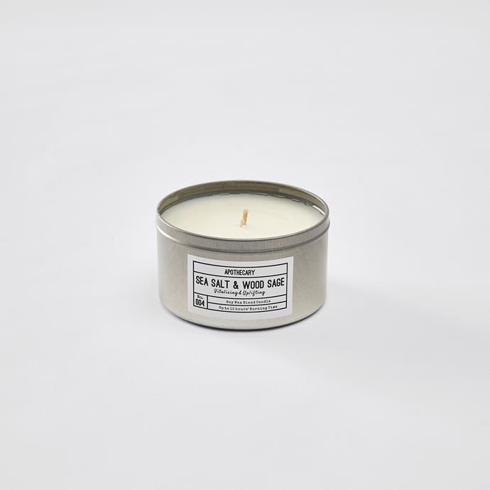 Apothecary Candle, $6