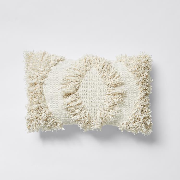 Ari Tufted rectangle Cushion, $20