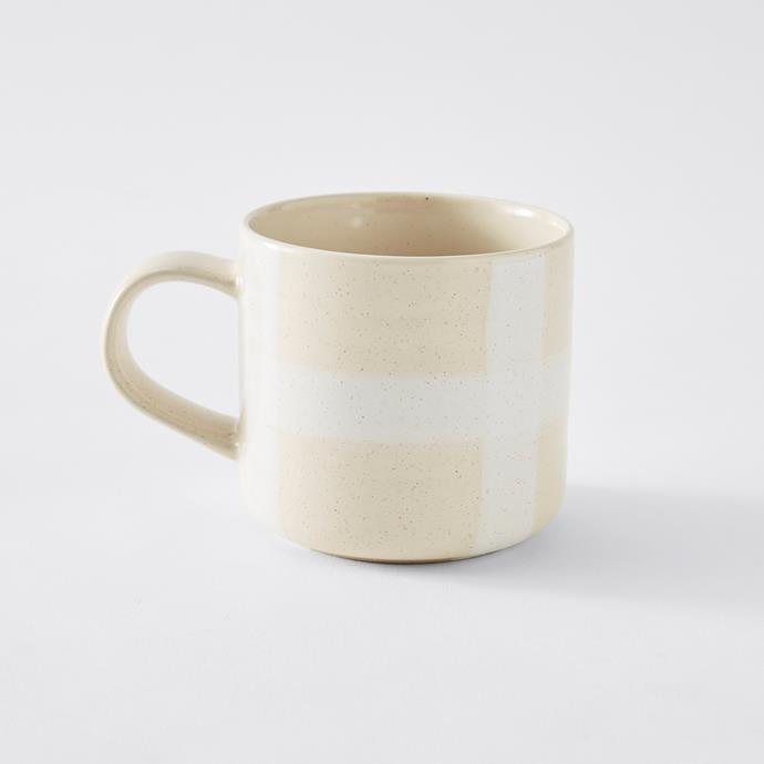 Artisan Mug in Cream, $4
