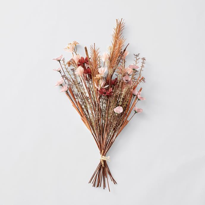 Dried Faux Bouquet, $20