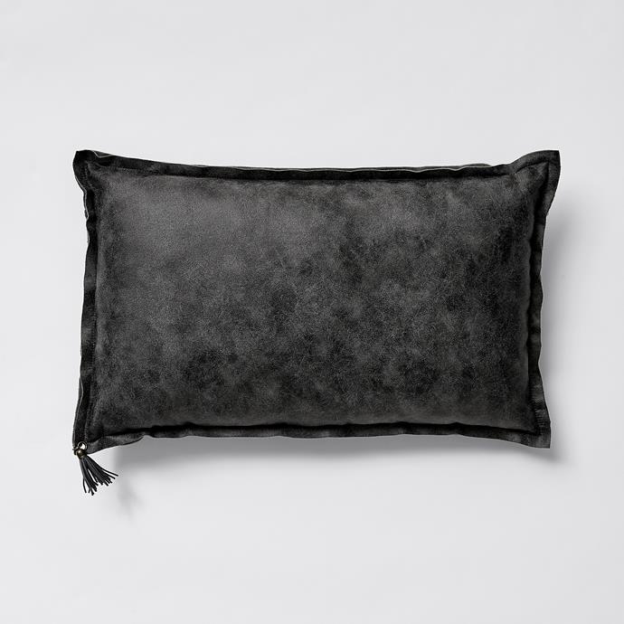 Kali Tassel Cushion, $16