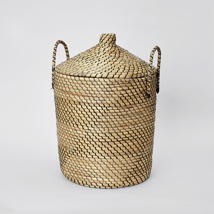 Seagrass & String Hamper, $59
