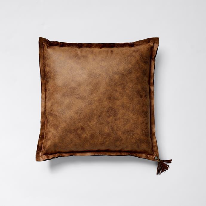 Tassel Cushion, $20