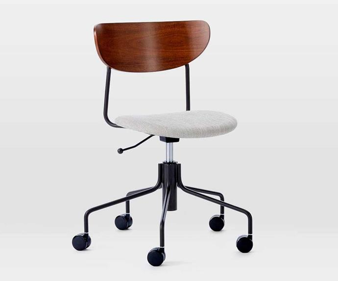 "Petal Office Chair, $399, [West Elm](http://www.westelm.com.au/petal-office-chair-h4367|target=""_blank""|rel=""nofollow"")."