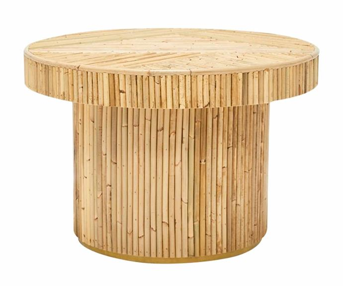 "Sarah Ellison Elton side table, $795, [Life Interiors](https://www.lifeinteriors.com.au/|target=""_blank""|rel=""nofollow"")."