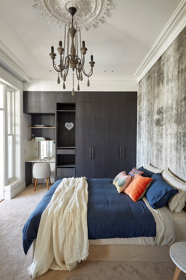 Jesse and Mel's winning guest bedroom.
