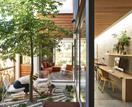 This Victorian terrace with an internal courtyard was renovated to let the light in