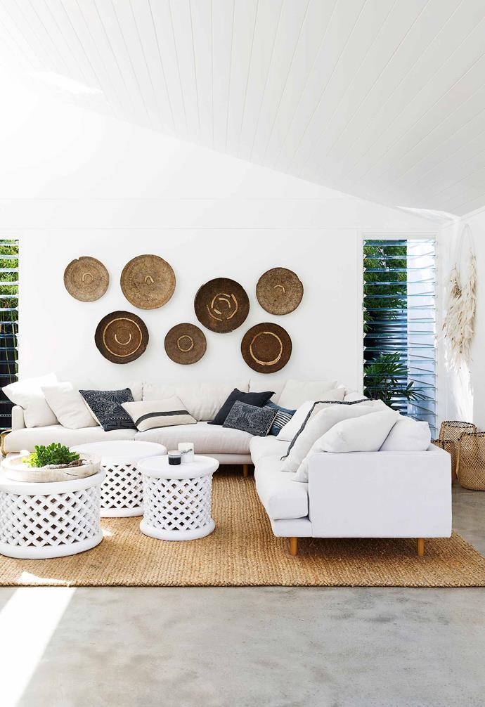 "**Family area** A Frankie sofa from [Fanuli](https://www.fanuli.com.au/|target=""_blank""
