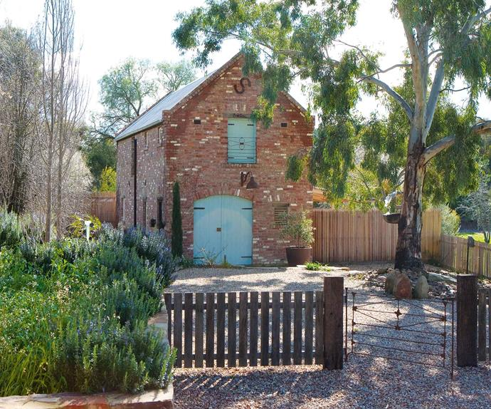 Brick shed home in Castlemaine, Victoria