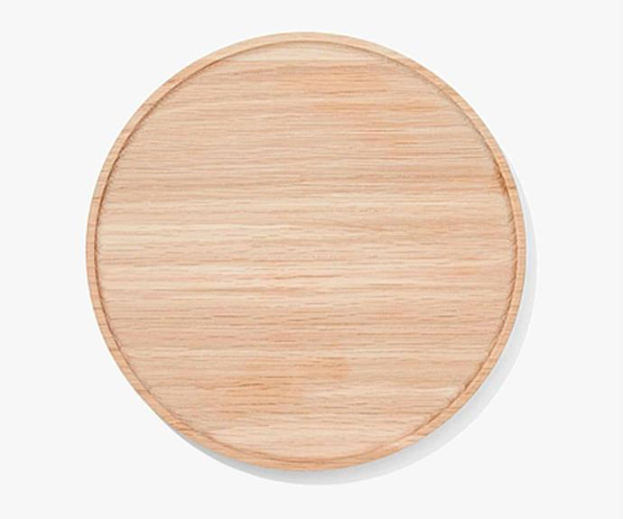 "**TIMBER TONE** <br>Timber is a tried and true favourite material for serving trays, and for good reason! It always looks great. If you have a lot of timber in your home decor, play around with similar timber tones to create a dynamic look.<br> Timber Cani **tray**, $89.95, [Country Road](https://www.countryroad.com.au/|target=""_blank""