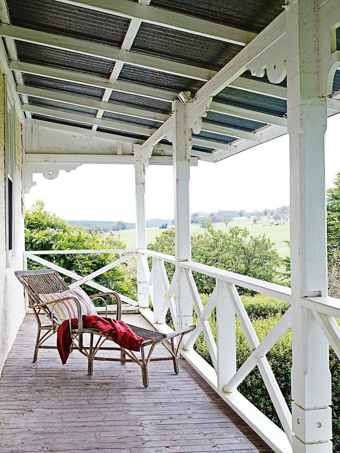 The house has wonderful views over surrounding farms and forest.