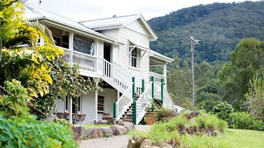 Foodie haven Mavis's offers boutique accommodation near Murwillumbah, NSW