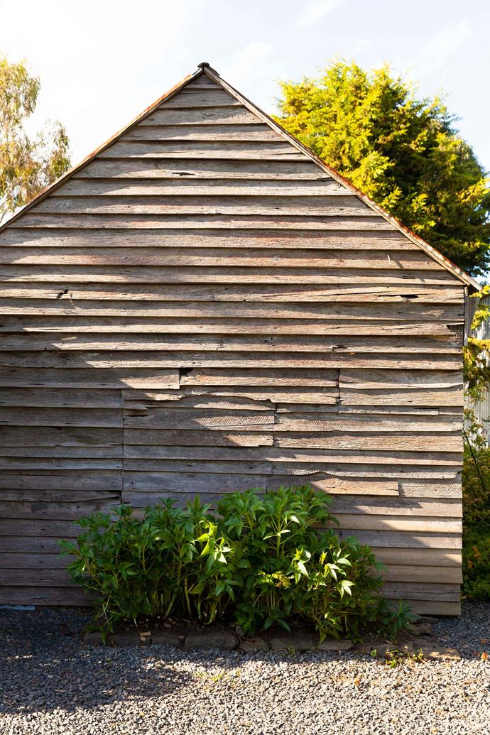 The shed was built in the 1850s.