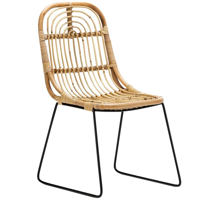 "Continental Designs Natural Astro Rattan & Cane Dining Chairs, $399 (set of 2), [Temple & Webster](https://www.templeandwebster.com.au/Natural-Astro-Rattan-and-Cane-Dining-Chairs-50-055-FEEL1606.html|target=""_blank""