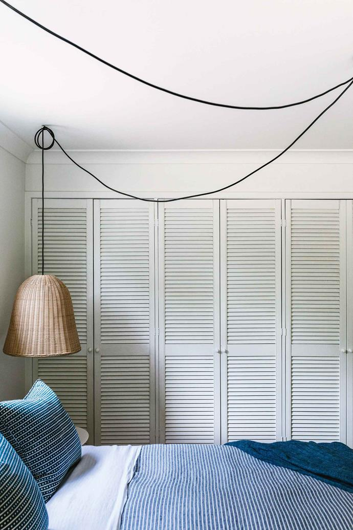 "A rattan pendant light in the bedroom is from [The Family Love Tree](https://www.thefamilylovetree.com.au/|target=""_blank""