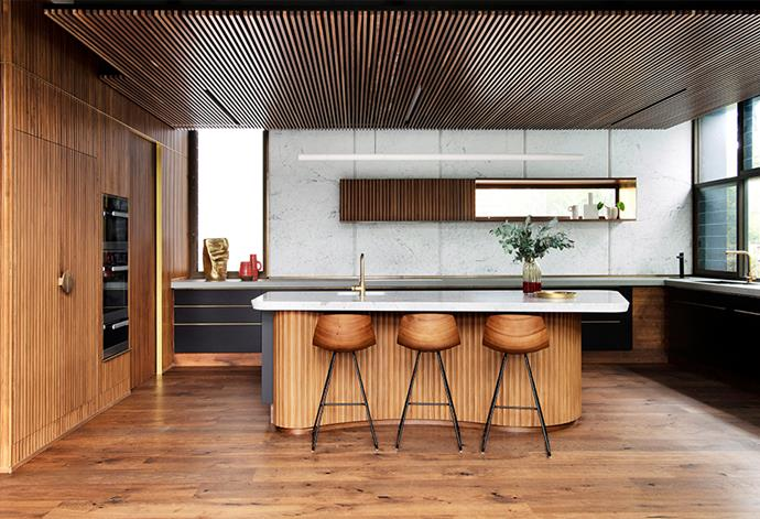 The trick to achieving a functional open-plan kitchen is to work with the bones of your entire home. *Photo: Jody D'Arcy / Bauersyndication.com.au*