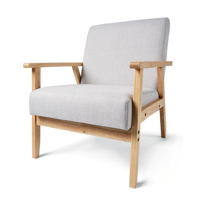 "[Upholstered Timber Chair, $69](https://www.kmart.com.au/product/upholstered-timber-chair/2592342|target=""_blank""