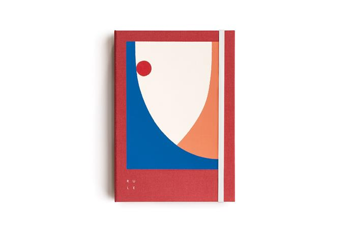 "Soft Cover Linen Notebook - Evi O Edition - Ruled - A5 - Red, $34.95, from [Milligram](https://milligram.com/milligram-soft-cover-linen-notebook-evi-o-edition-ruled-a5-navy|target=""_blank""