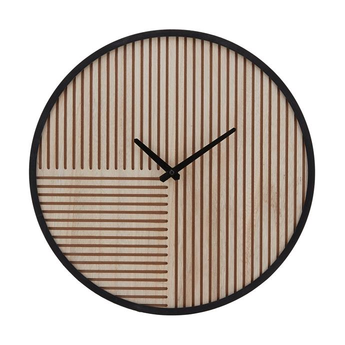 "[Carved Wall Clock, $15](https://www.kmart.com.au/product/carved-wall-clock/2618825|target=""_blank""