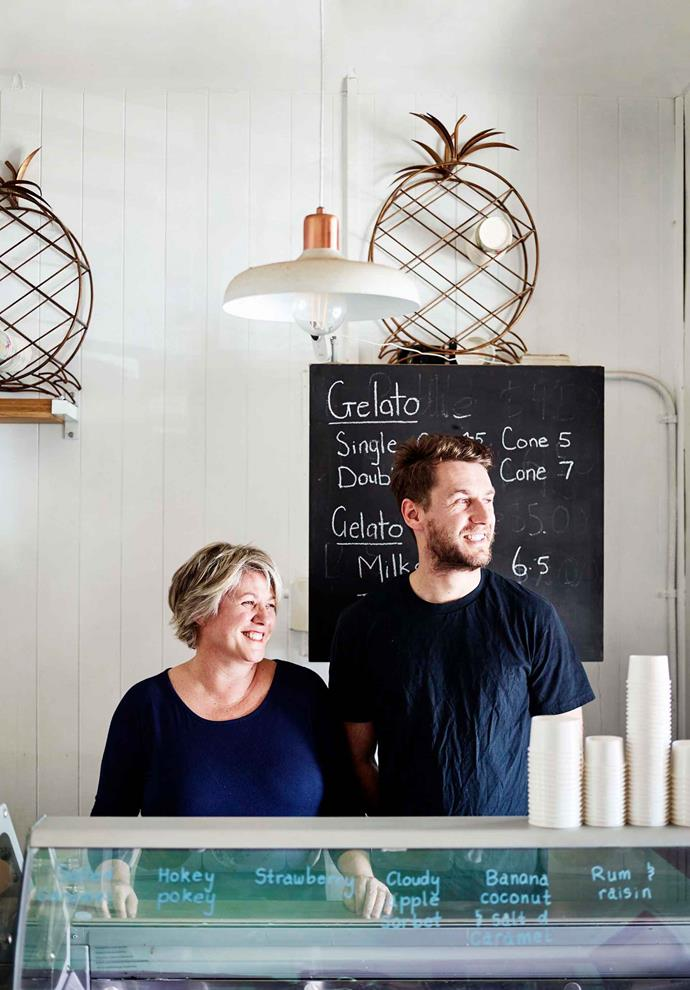Melissa and Josh Matters, owners of Fern St. Kiosk and lifelong Gerringong residents.