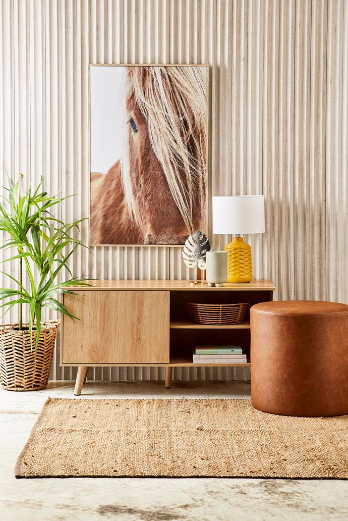 "Embrace the natural look with Kmart's new [Tan Ottoman, $29](https://www.kmart.com.au/product/tan-ottoman/2649817|target=""_blank""