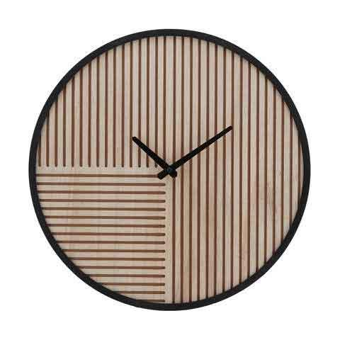"**AFFORDABLE**<p> <p>'Carved' wall clock, $15, from [Kmart](https://www.kmart.com.au/product/carved-wall-clock/2618825|target=""_blank""