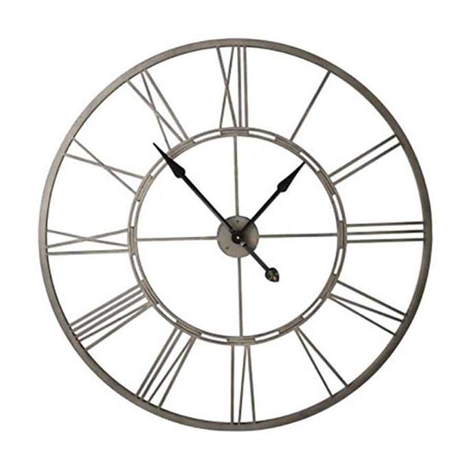 "<p>**OUTDOOR**<p> <P>'Arles' clock in fawn, $129, from [Freedom](https://fave.co/2N4RM9Y|target=""_blank""