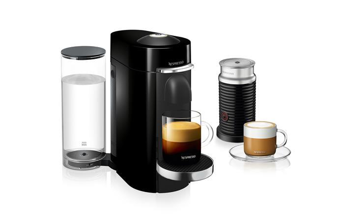 "Nespresso Vertuo, $299, at [Nespresso](https://www.nespresso.com/au/en/vertuo-coffee-redefined|target=""_blank""|rel=""nofollow"")"