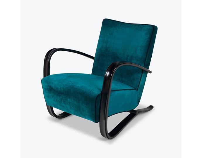 "Model H-269 Armchair by Jindrich Halabala, 1930s, Czech Republic, $4990, at [Modern Times](https://www.moderntimes.com.au/shop/sofas-armchairs/armchairs/model-h-269-armchair-by-jindrich-halabala-1930s-czech-republic/|target=""_blank""|rel=""nofollow"")"
