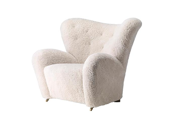 """The Tired Man chair by Lassen, POA, at [Fred International](https://fredinternational.com.au/products/seating/the-tired-man-by-lassen