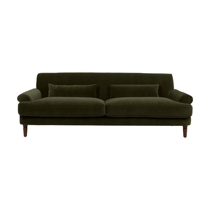 "Bogart Classic 3 Seater Sofa, $4375, [Globe West](https://www.globewest.com.au/collection/bogart/bogart-classic-3-seater-sofa|target=""_blank""