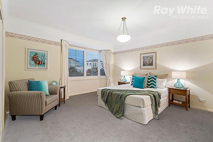 The home has four spacious bedrooms.