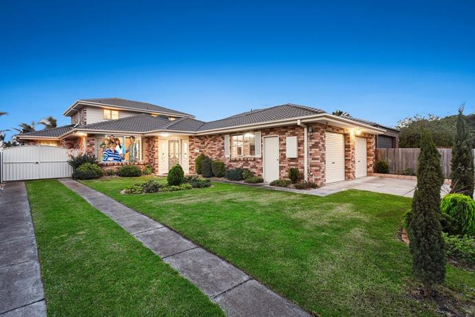Passers-by often stop to take a selfie in front of the iconic home in Patterson Lakes. In the series, the home, dubbed 'Chateau Kath' is set in the fictional suburb of 'Fountain Lakes'.