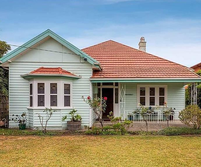 1920s-era Edwardian home exterior