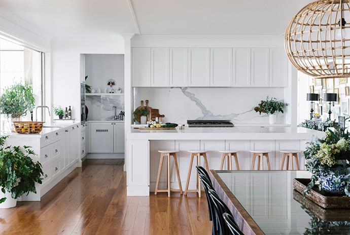 Embrace a Marie Kondo-take on decluttering your kitchen and throw out anything that doesn't serve the space. *Photo: Marnie Hawson / Bauersyndication.com.au*