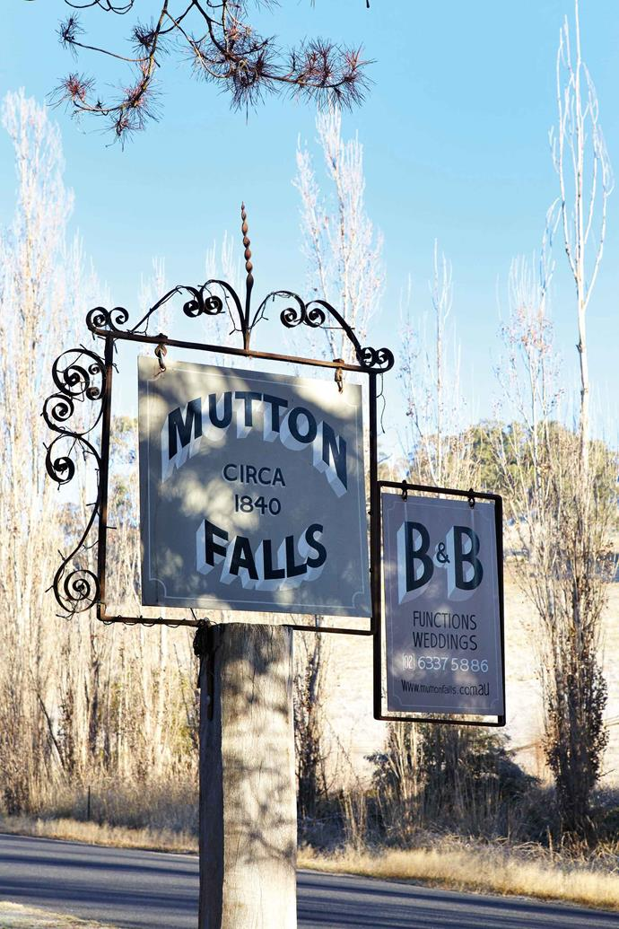 Mutton Falls is now a bed and breakfast.