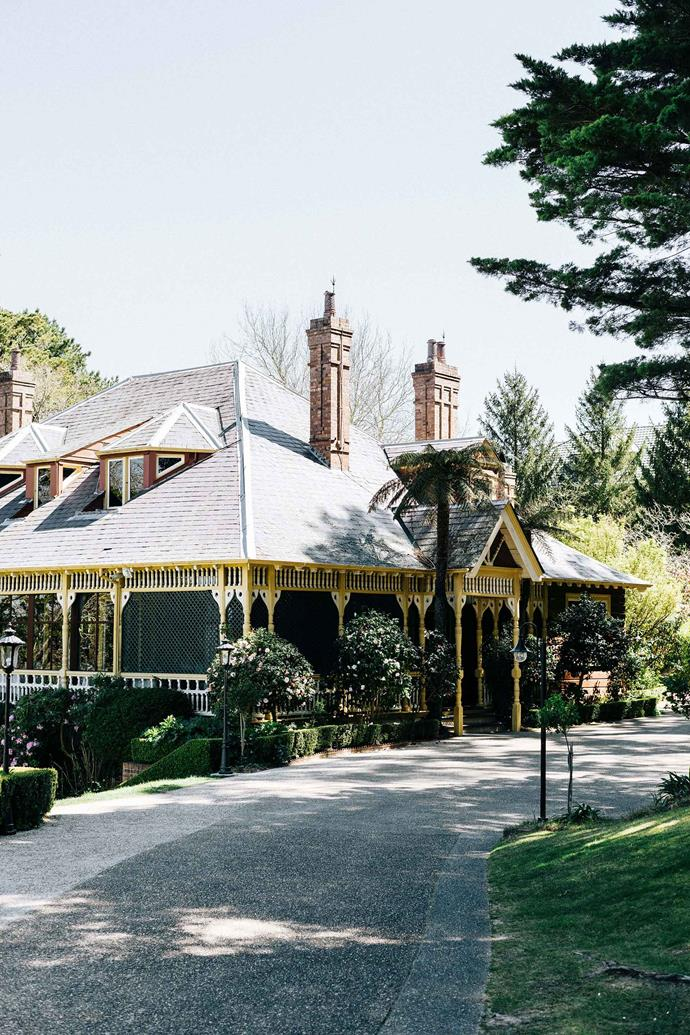 Heritage-listed Lilianfels House is home to Darley's Restaurant at the Lilianfels Resort and Spa.