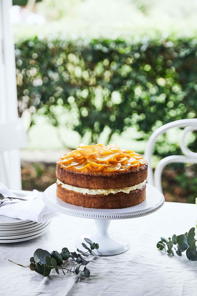 South on Albany's mandarin cake celebrates citrus flavours.