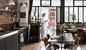 A perfectly imperfect warehouse-style studio apartment