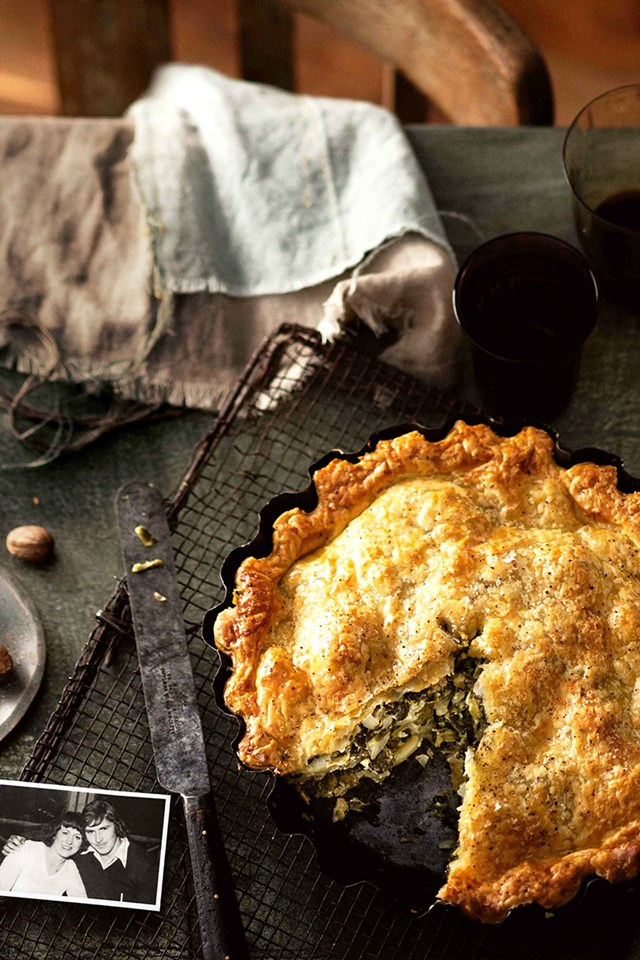 "**[A FAMILY-SIZED CHEESE AND SPINACH PIE](https://www.homestolove.com.au/spinach-pie-12026|target=""_blank"")**<br> <br>This heirloom spinach pie recipe has sustained Josephine Smith's family for more than 30 years. A hearty vegetarian dish that is as delicious at it looks."