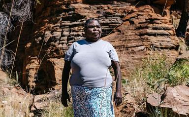 The inspiring story behind Aboriginal artist Gloria Mengil's work